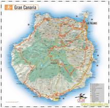 Гран Канари - карта острова