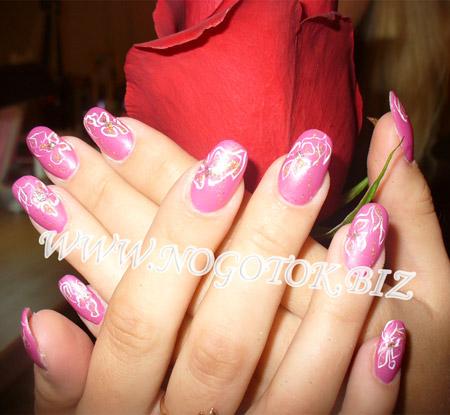 примеры наращивания ногтей
