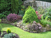 Обустройство уютного сада