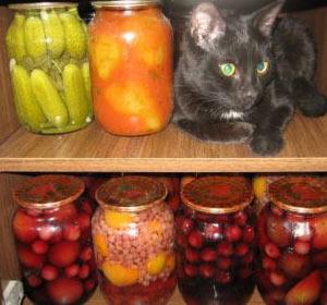 Закатываем перец в томатном соке