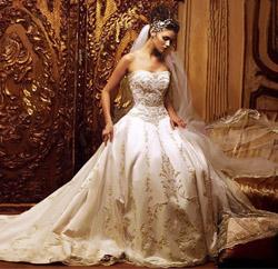 Вы прекрасная невеста
