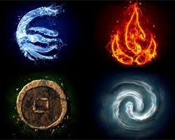 Огонь, вода, земля, воздух