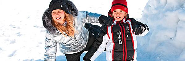 Выбор зимней одежды для ребенка