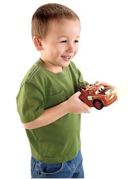 Мальчик с машинкой м-ф Тачки