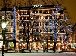 Отель Kamp в центре Хельсинки