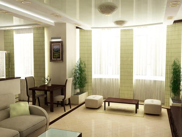 Мебель в квартире минималистский стиль