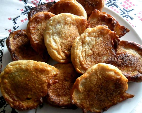 Рецепт оладьев из ржаной муки