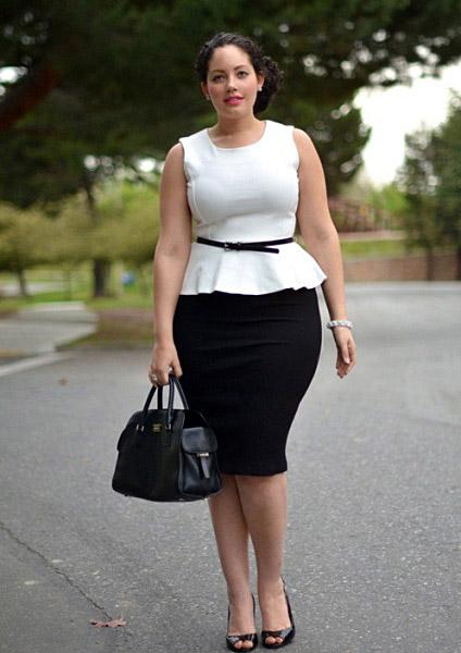 Стиль одежды для женщин с пышными формами